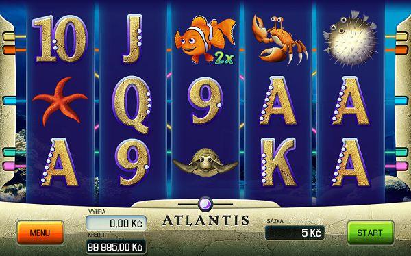 Atlantis automat od Apollo Games