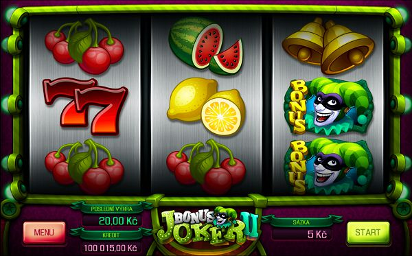 Bonus Joker 2 automat od Apollo Games