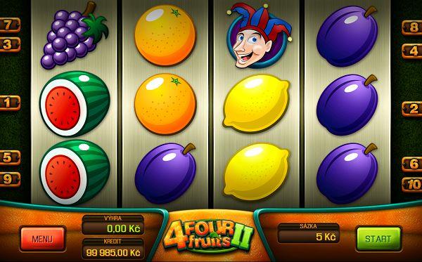 Four Fruits 2 automat od Apollo Games