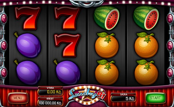 Lucky 81 automat od Apollo Games