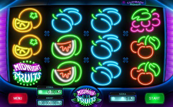 Midnight Fruit 81 automat od Apollo Games