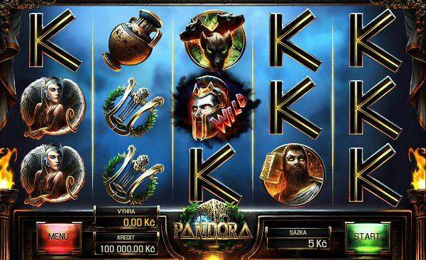 Pandora automat od Apollo Games