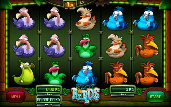 Slot Birds automat od Apollo Games