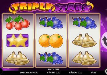 Triple Stars automat zdarma