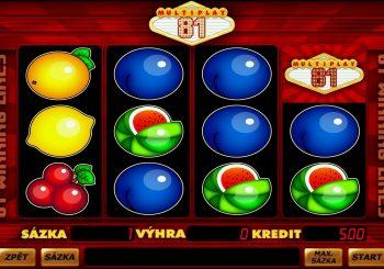 MultiPlay 81 automat online zdarma