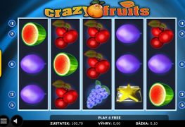 Crazy Fruits automat