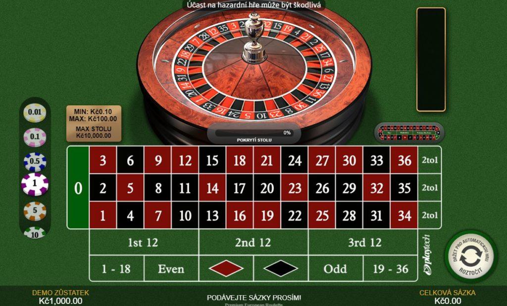 Nejhranější automaty Fortuna ruleta