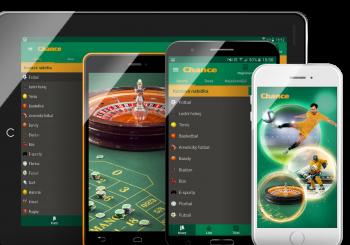 Chance Vegas mobilní aplikace – návod jak stáhnout