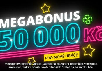 Největší uvítací bonus na české scéně! Až 50 000 Kč pro nové hráče